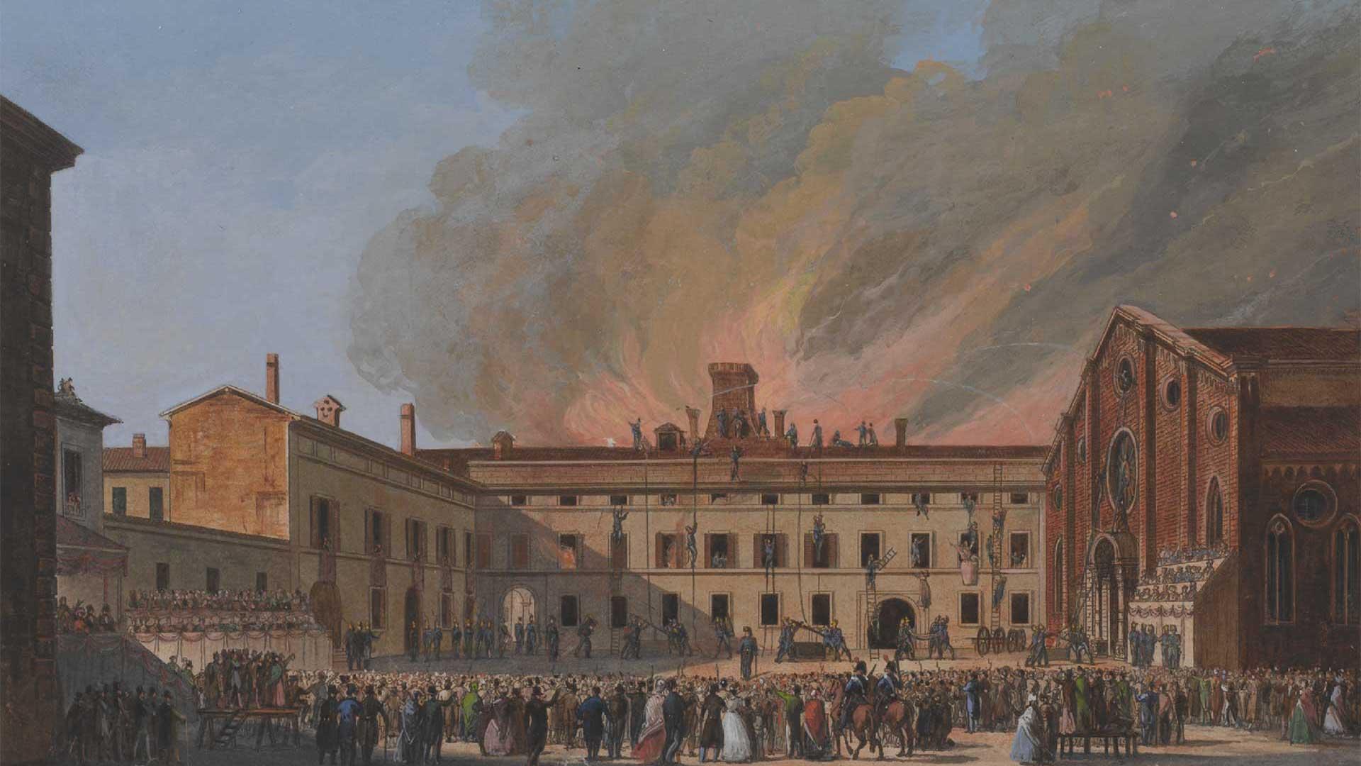The Inquisition in Santa Maria delle Grazie