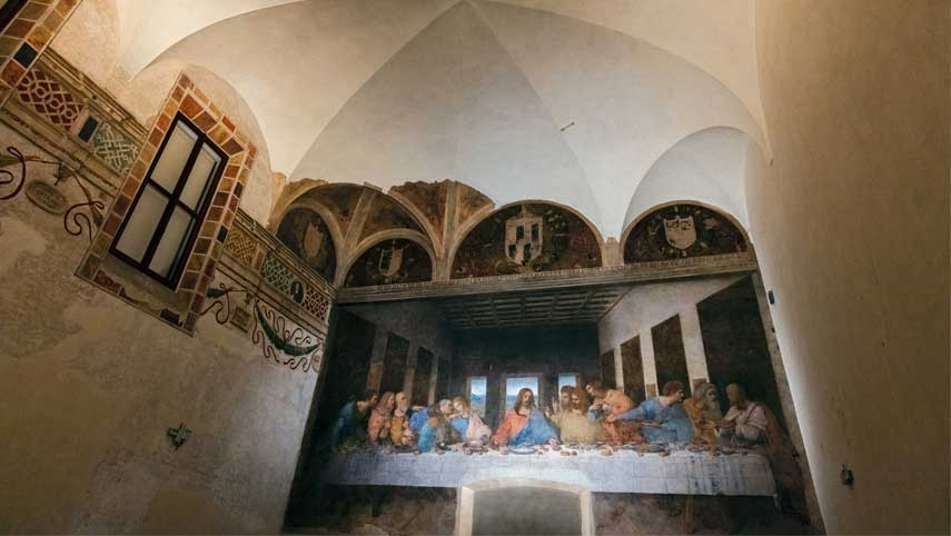 Last Supper painted by Leonardo da Vinci in the List of World Heritage Sites