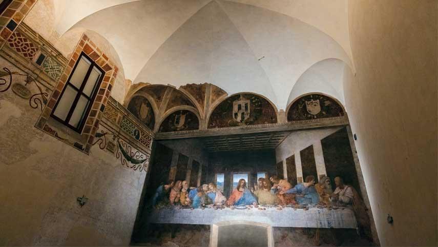 """L'Ultima Cena dipinta da Leonardo da Vinci: """"Patrimonio Mondiale dell'Umanità"""""""