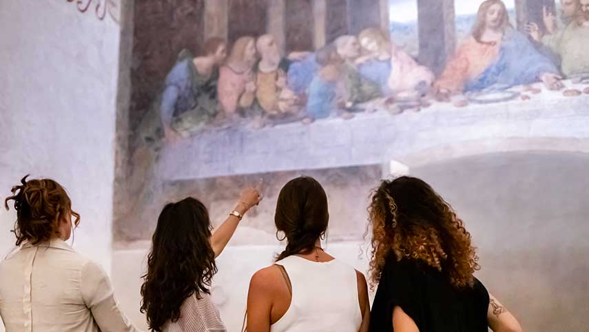 A new licensee for additional services for Leonardo's Last Supper